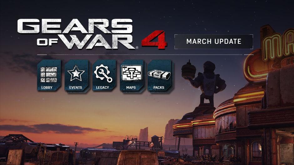 Gears of War 4 va primi un nou update in martie