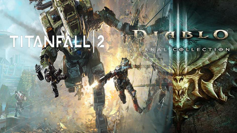 Diablo 3 si Titanfall 2 sunt disponibile gratis in Xbox Store