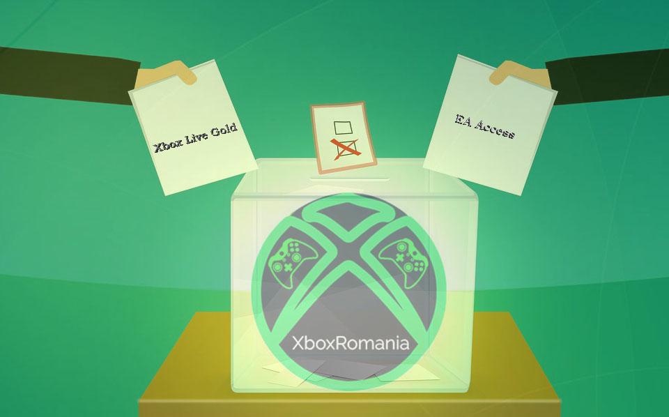 Xbox Live Gold – cel mai votat abonament de către români