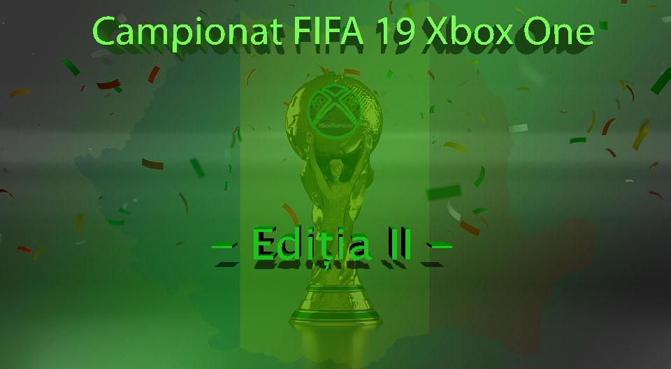 Campionat FIFA 19 Xbox One – Ediția II