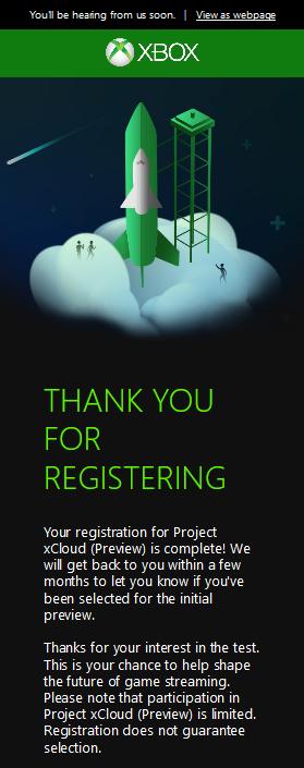 Xbox Project xCloud Public Preview