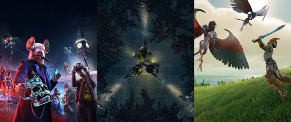 Ubisoft-WatchDogs Legion,RainbowSixQuarantine&GodsAndMonsters