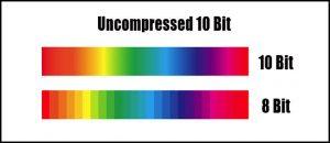 10 bit vs 8 bit