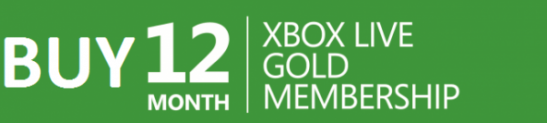 Buy 12 month xbox gold live