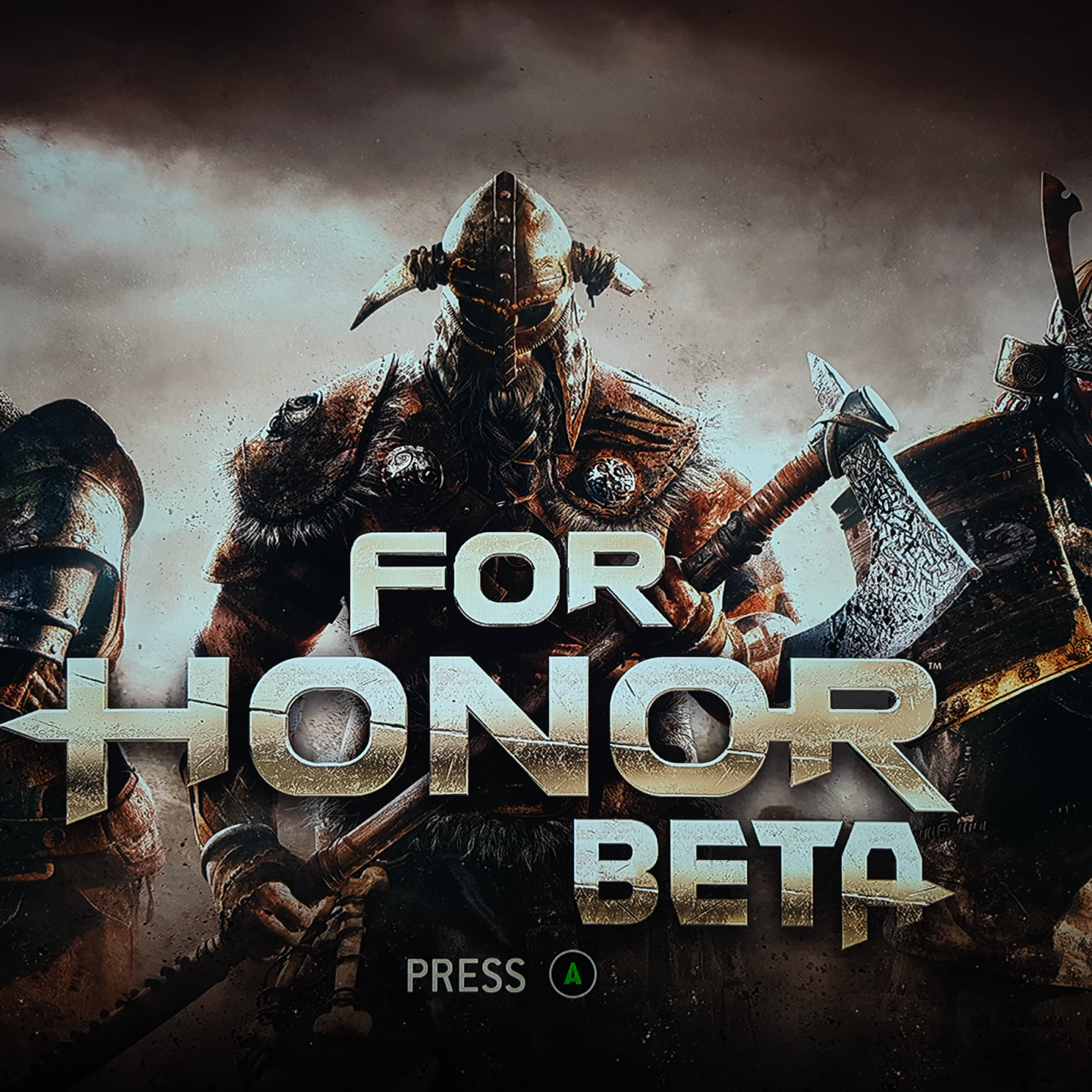 Start For Honor Beta