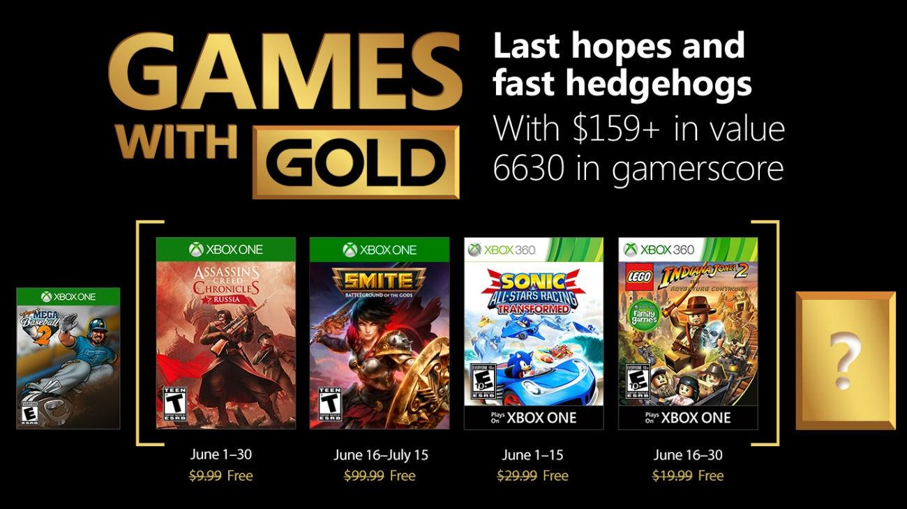 Games with Gold - Iunie 2018