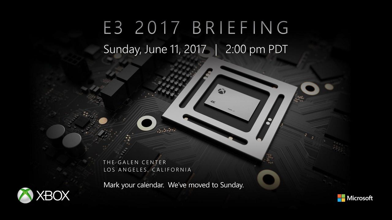 Proiectul Xbox Scorpio va fi prezentat pe 11 iunie