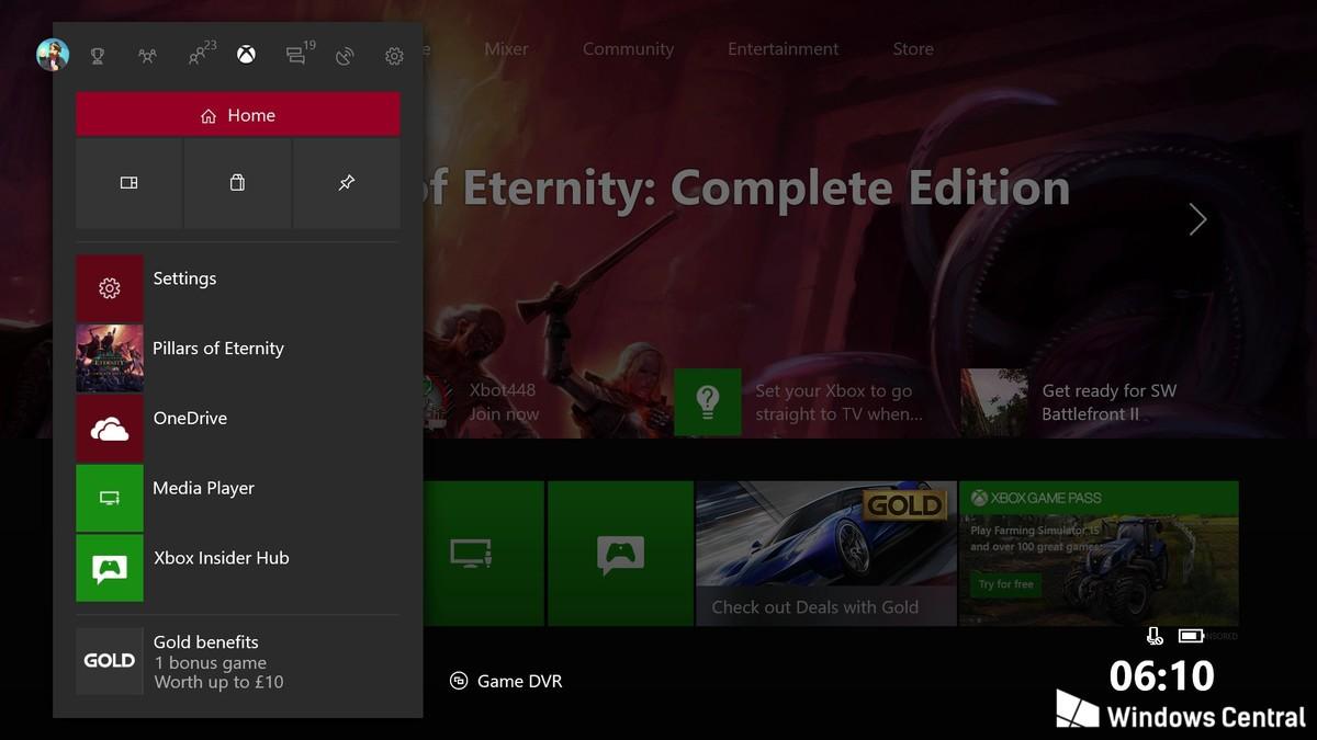 Cum va arata urmatorul update pentru Xbox One