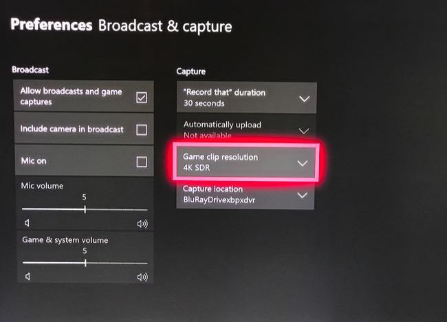 Înregistrare Xbox