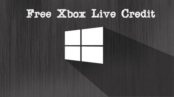 Free Xbox Live Credit