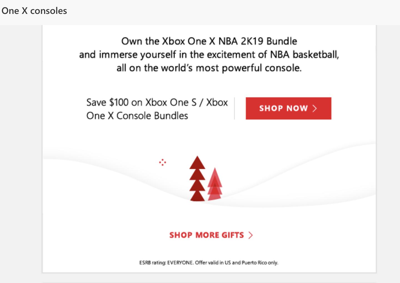 Obțineți gratuit 10 $  Xbox Live Credit  de la Microsoft înainte de Holiday Sale