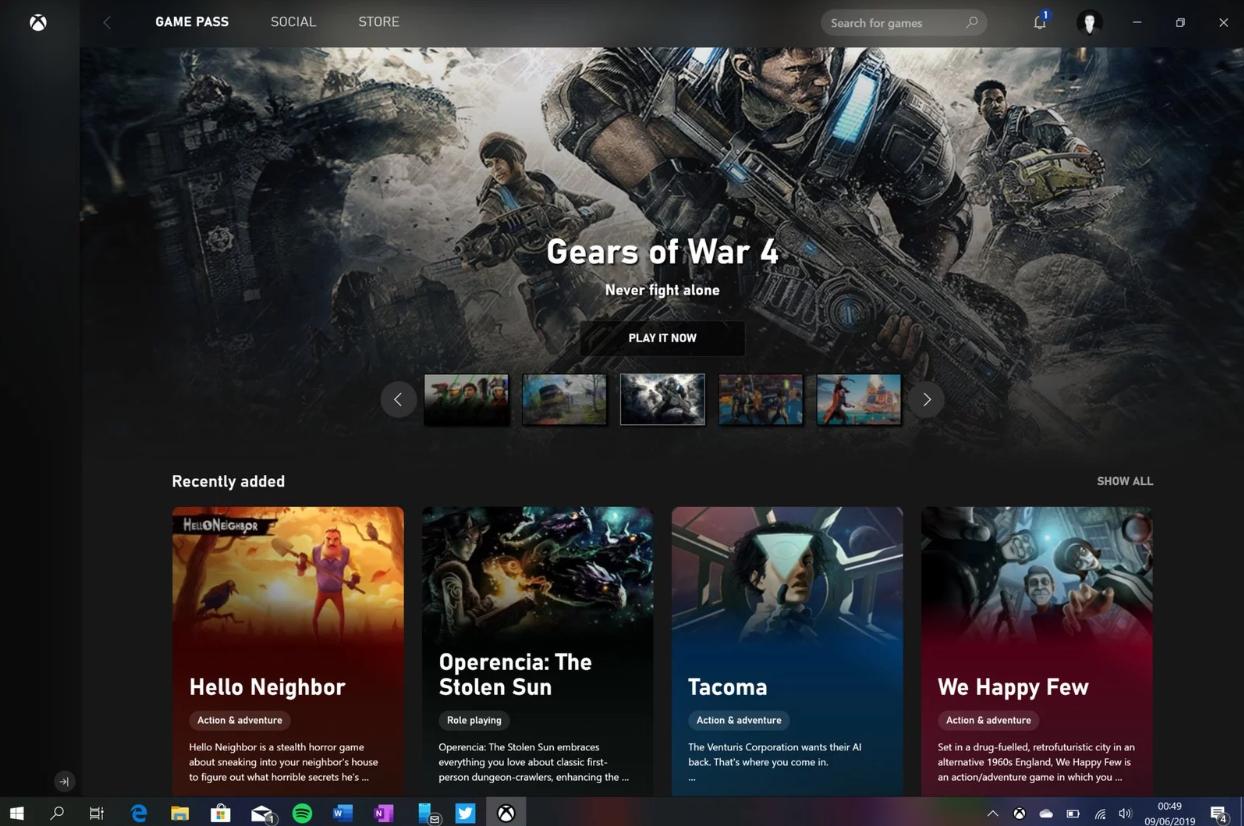 Noua aplicație Xbox pentru PC-uri cu Windows 10