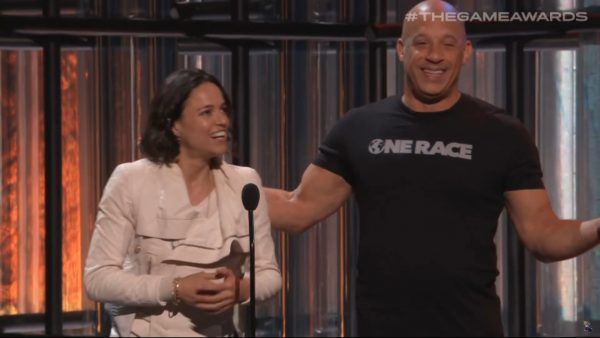 VinDiesel GAme Awards