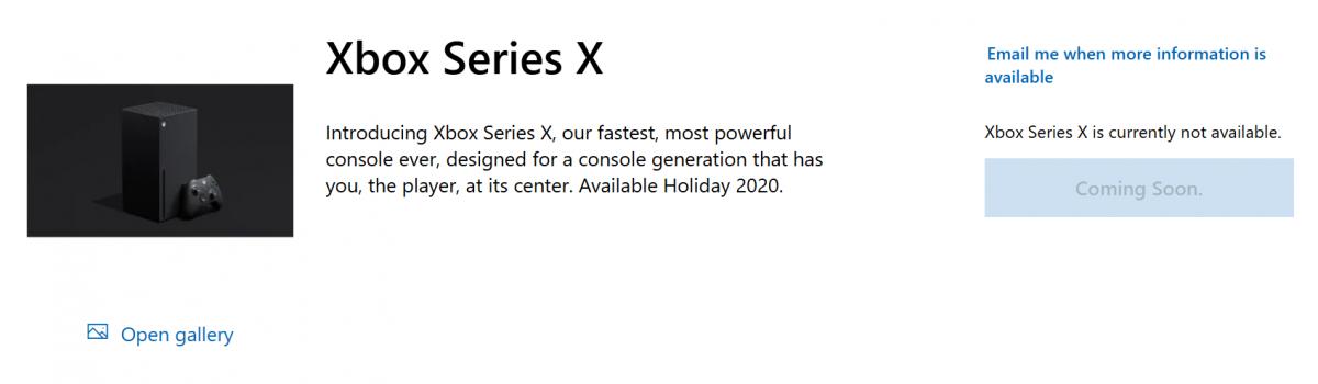 Xbox Series X Precomandă