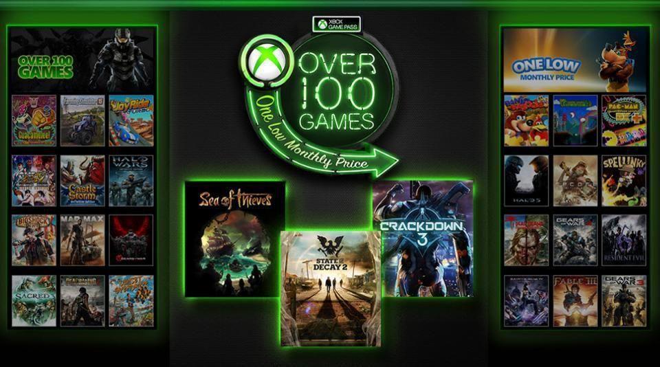 Valoarea totală a jocurilor din Xbox Game Pass este de peste 5000 de dolari
