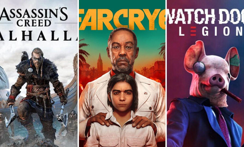 Alegeți unul: Pentru care dintre aceste jocuri Ubisoft sunteți cel mai încântat?