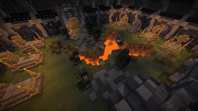 Minecraft Dungeons primește crossplay în acest an