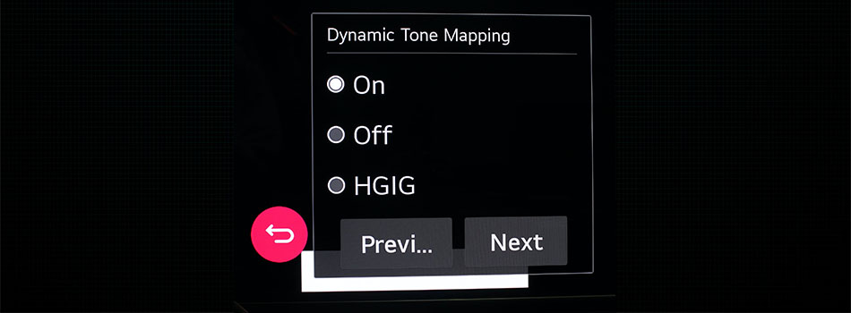Dynamic Tone Mapping HGIG