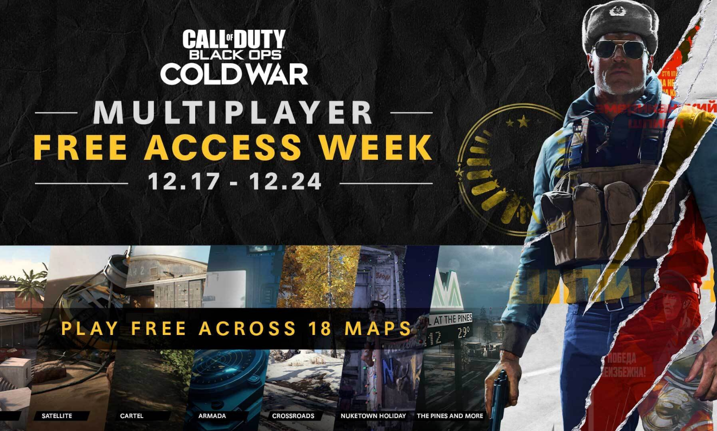 Activision oferă acces gratuit la multiplayer-ul Call Of Duty: Black Ops Cold War