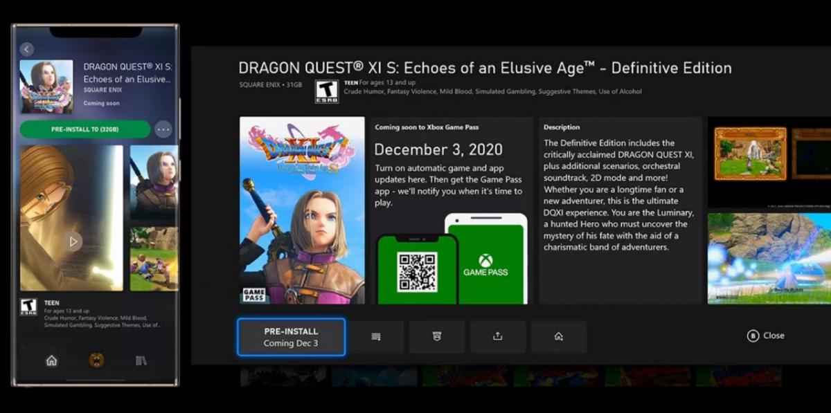 Actualizarea Xbox aduce preinstalarea la Game Pass