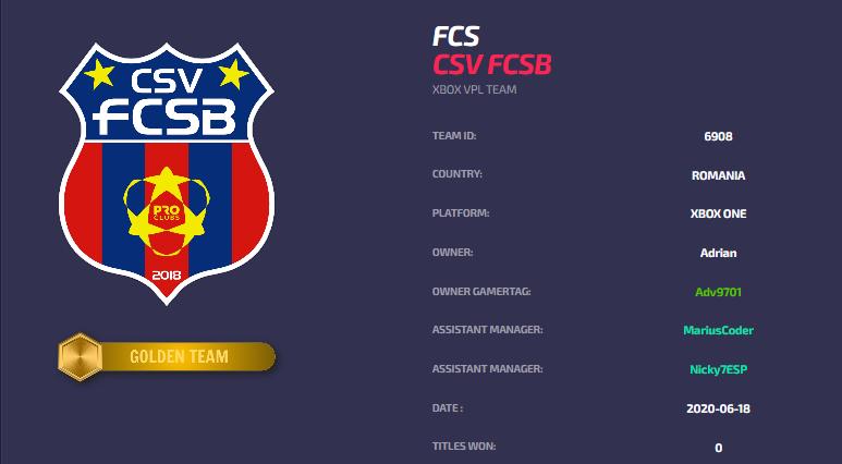 CSV FCSB