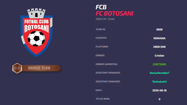 FC Botosani eSports - VPL