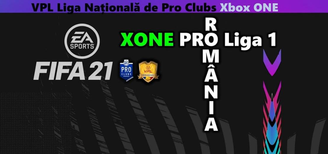 Liga Națională de FIFA Pro Clubs Xbox – România